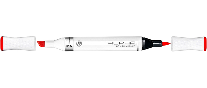 Alpha-brush-marekr 1pcs top