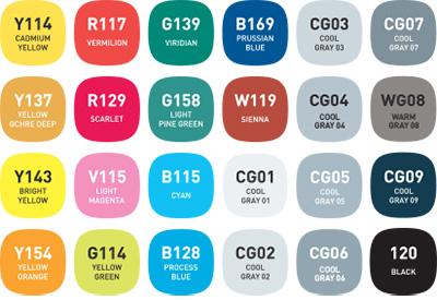 alpha design 24T colors