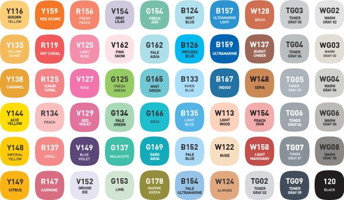 alpha design60 B colors