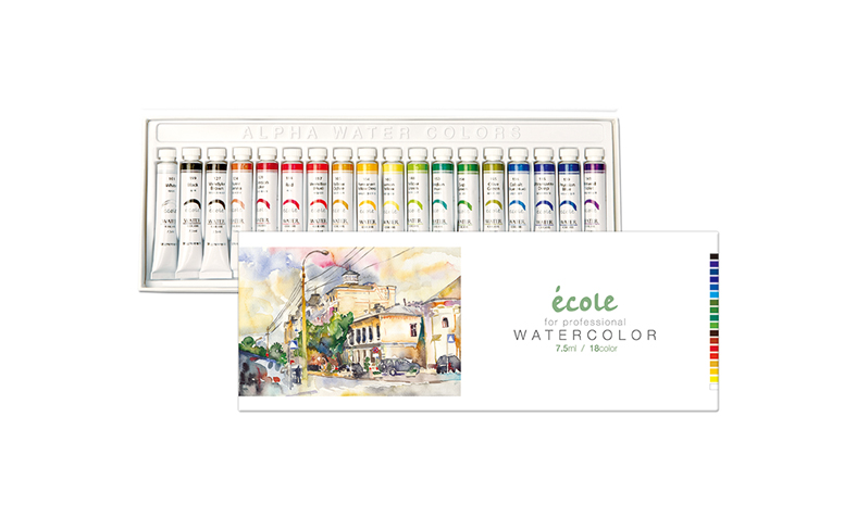 ecole 18colors