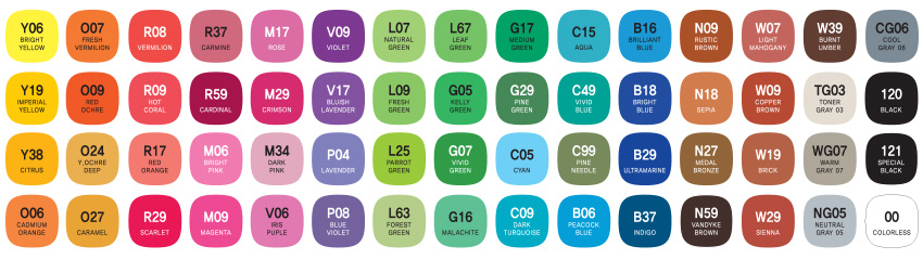mepxy design 60 basic color